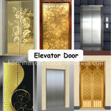 Decorative Etching Stainless Steel Elevator Door Decoration