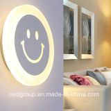 LED Smiling Face Wall Lamp, Bedroom LED Light