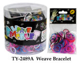 D: 18mm 300PCS DIY Loom Bands