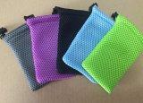 Polyester Mesh Drawstring Bag, Mobile Power Storage Bag (FLY- CB0120)