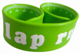 Logo Printed One Inch Silicone /PVC Ruller Slap Wristband