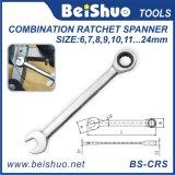 Professional Flexible Head Ratchet Combination Spanner