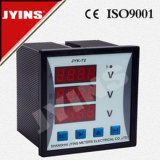 LED Digital Three Phase AC DC Voltmeter (JYK-72-3V)