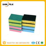 Magic Cleaning PU Sponge with Scouring Pad for Kitchen
