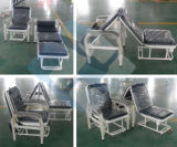 Factory Direct Price Hospital Accompany Portable Sleeper Folding Blue Chairs