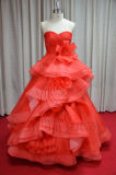 2013 Red Organza Wedding Dress (2013031)