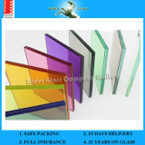 6.38-42.3mm Clear PVB/Colored Glass Laminated Glass with AS/NZS2208: 1996