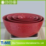 Ceramic Retro Mixing Bowl Set (15031801)