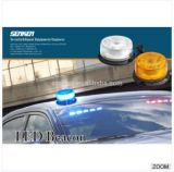 R65 Past Low Profile LED Magnetic Warning Light LED Beacon Light