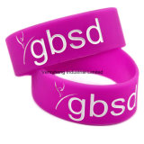 Customized Fashion Popular Silicone Bracelet for Festival