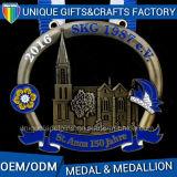 2D Zinc Alloy Metal Award Sport Medal for Sales