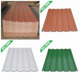 1130mm ISO Corrugated Green Roofing Materials