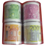 Euro Banknote Printed Toilet Paper