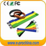 Promotional Cheap Silicon Wristband Pen Drive USB Bracelet (EG019)