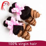 Brazilian Virgin Hair 1b/ 27 Ombre Loose Wave Human Hair