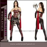 3 Piece Sexy Warrior Women Halloween Carnival Adult Costume (4381)