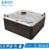 6 People Freestanding Us Acrylic Outdoor SPA Hot Tub (M-3349)