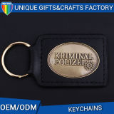 Custom Logo Leather Keychain Hot Sale Key Holder