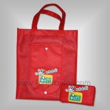 Telecom Logo Branded Promotional Non Woven TNT Shopping Bag