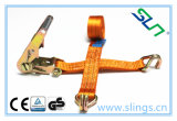 Sln 002 Ratchet Strap with Hooks Ce GS