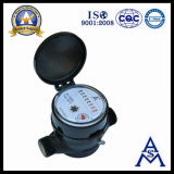 Single Jet Dry Dial Plastic Water Meter (LXSC-13S)