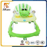 Ce Approved 7 Wheels Rolling Round Base Baby Walker