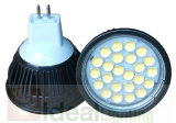 MR16- 5W 24SMD Black Housing, 12V LED Spotlight, 400lm