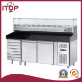 Air-Cooled Refrigerated Pizza Counters with Displayer (ZA2610TN-VPX380)
