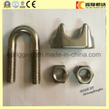 DIN741 Zinc Plated Mallable Wire Rope Clips