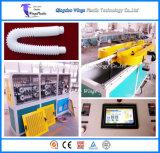 Plastic Flexible Basin Drain Pipe Machine / PP Hose Corrugator
