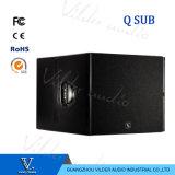 Qsub Hot Bass Single 18inch Line Array Subwoofer Speaker