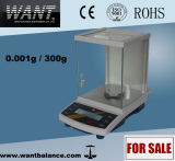 300g 0.001g Laboratory Weighing Scale with Overload Protection