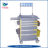 ABS Plastic Medical Hospital Use Anesthesia Cart