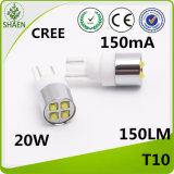 High Power LED Car Light 20W CREE T10 White