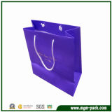 Luxury Custom Printed Kraft Paper Shopping Packaging Carrier Gift Paper Bag for Packing with Handles