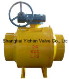 Worm Gear Operated Gas Pipeline Fully Welded Ball Valve (TRQ361F)