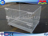 Stackable Industrial Storage Wire Mesh Containers (FLM-K-013)
