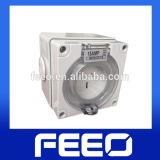 56series 50A 250V Weatherproof Socket Electric Standard Plug Case
