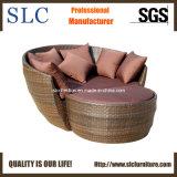 Rattan Wicker Round Sun Lounger/ Outdoor Round Wicker Lounge/Sectional Wider Round Rattan Sets (BL-254)