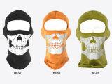 100% Cotton Thicker Winter Reflective Skull Design Head Cover