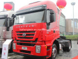 Economic Saic Iveco Hongyan Genlyon 380HP 4X2 Left Hand Tractor Truck/Trailer Head / Truck Head of Euro 3
