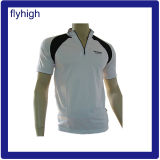 Custom Made Polo Shirt with Zipper