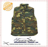 Mens Winter Padded Camouflage Bodywarmer