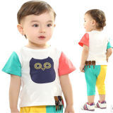 cute cotton boy summer wholesale name brand baby clothes   china baby