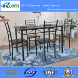 Rectangular Wooden Dining Table with Chairs (RX-C1002/Y1001)