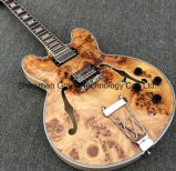 Es335 Semi Hollow Body Archtop Guitar with Natural Color (TJ-239)