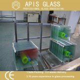 4mm Silk Screen Printed Tempered Glass with Pencil Edges