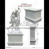 Metrix Carrara Stone Sculpture for Home Decoration Ms-418