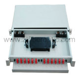 Rack Mount FC 24fibers Fiber Optic Patch Panel