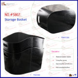 Fashional Croc Pattern shiny PU storage basket (5807)